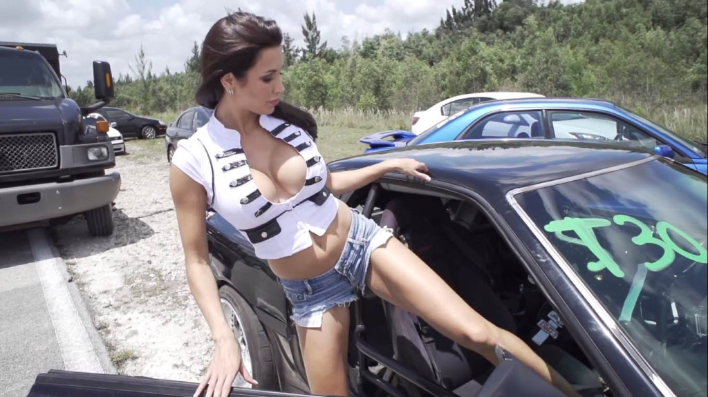 Hottest-Drift-girl-UFC-ring-girl-goes-Drifting-MMA-Candy