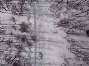 PORSCHE-356-SNOW-DRIFTING-1